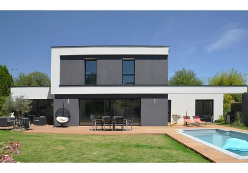 Construction maison contemporaine en Loire-Atlantique (44 ...